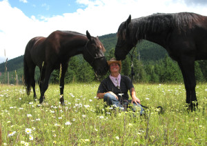Karin Bauer, Equine Facilitated Counselor