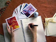 Art Guidance Cards and Inner Guidance Journal.
